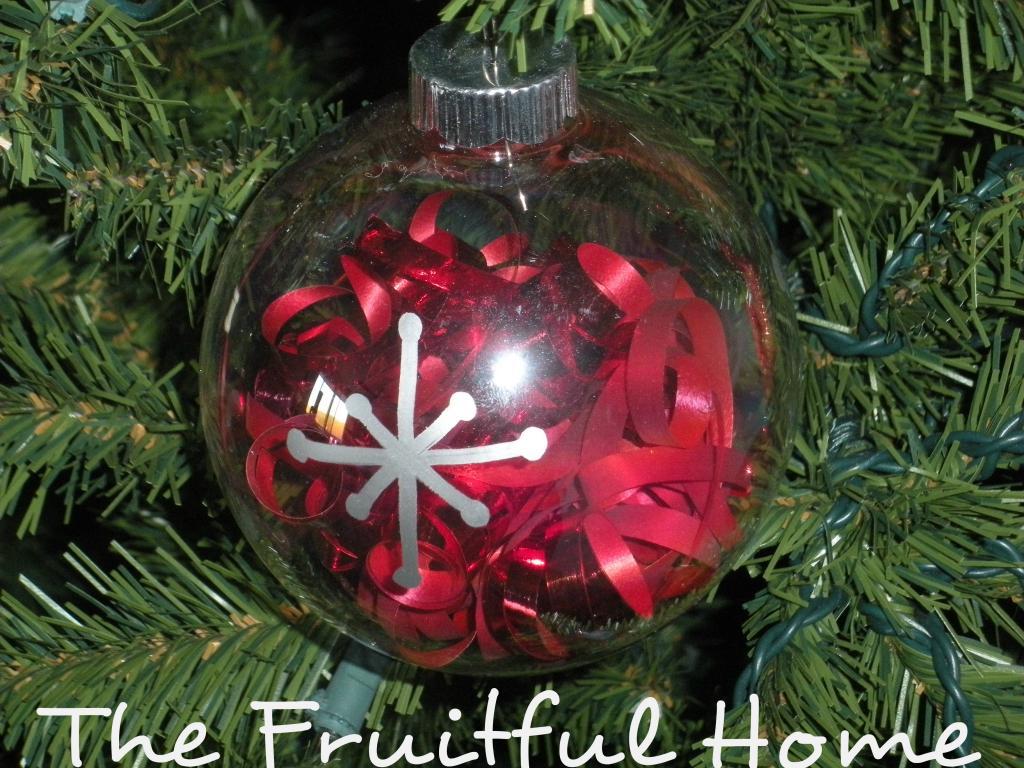 Three Easy Christmas Handmade Ornaments