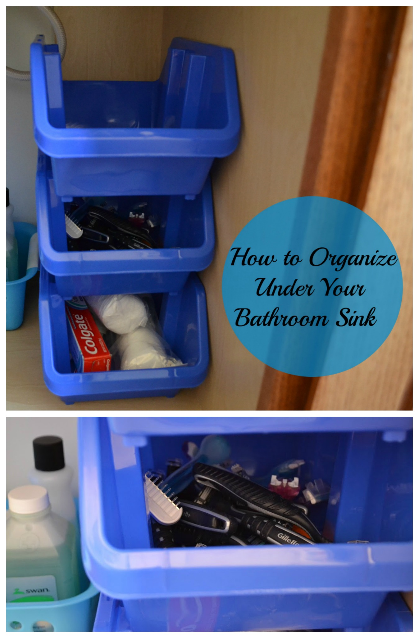 organize under bathroom sink how to organize bathroom sink my fruitful home 19809