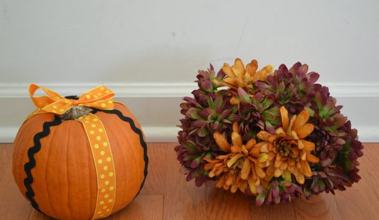 Simple Pumpkin Crafts {Guest Posting Over at Oh Sweet Mercy}