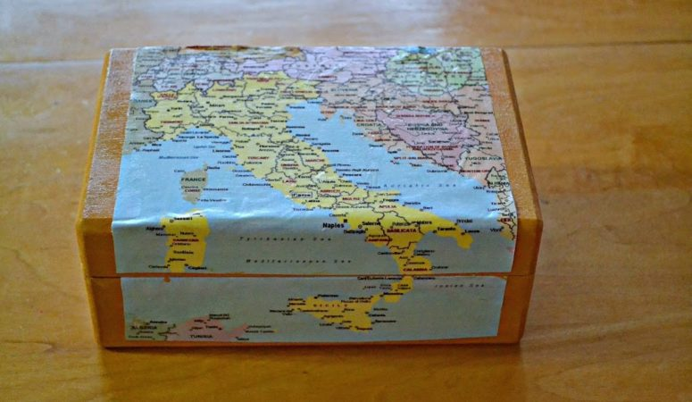 How to Use a Map to Create a Beautiful Wooden Box