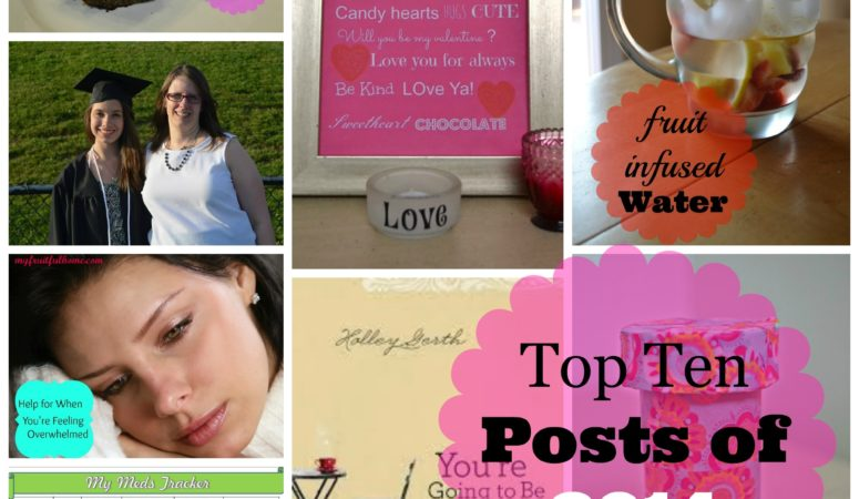 top posts from My Fruitful Home