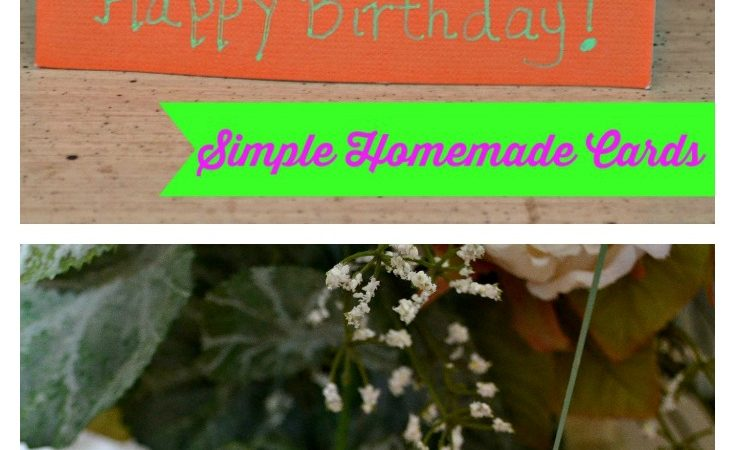 Simple Homemade Cards