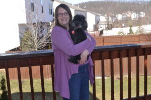 Me on my deck