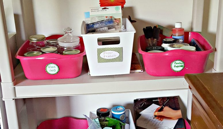 More Craft Room Organizing Tips (A Craft Room Redo)