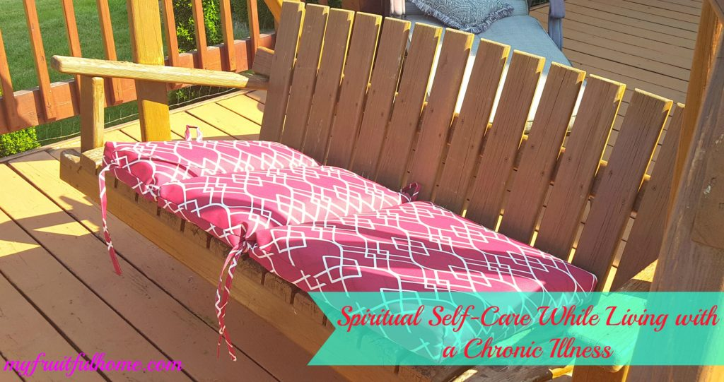 spiritual self care while living with a chronic illness