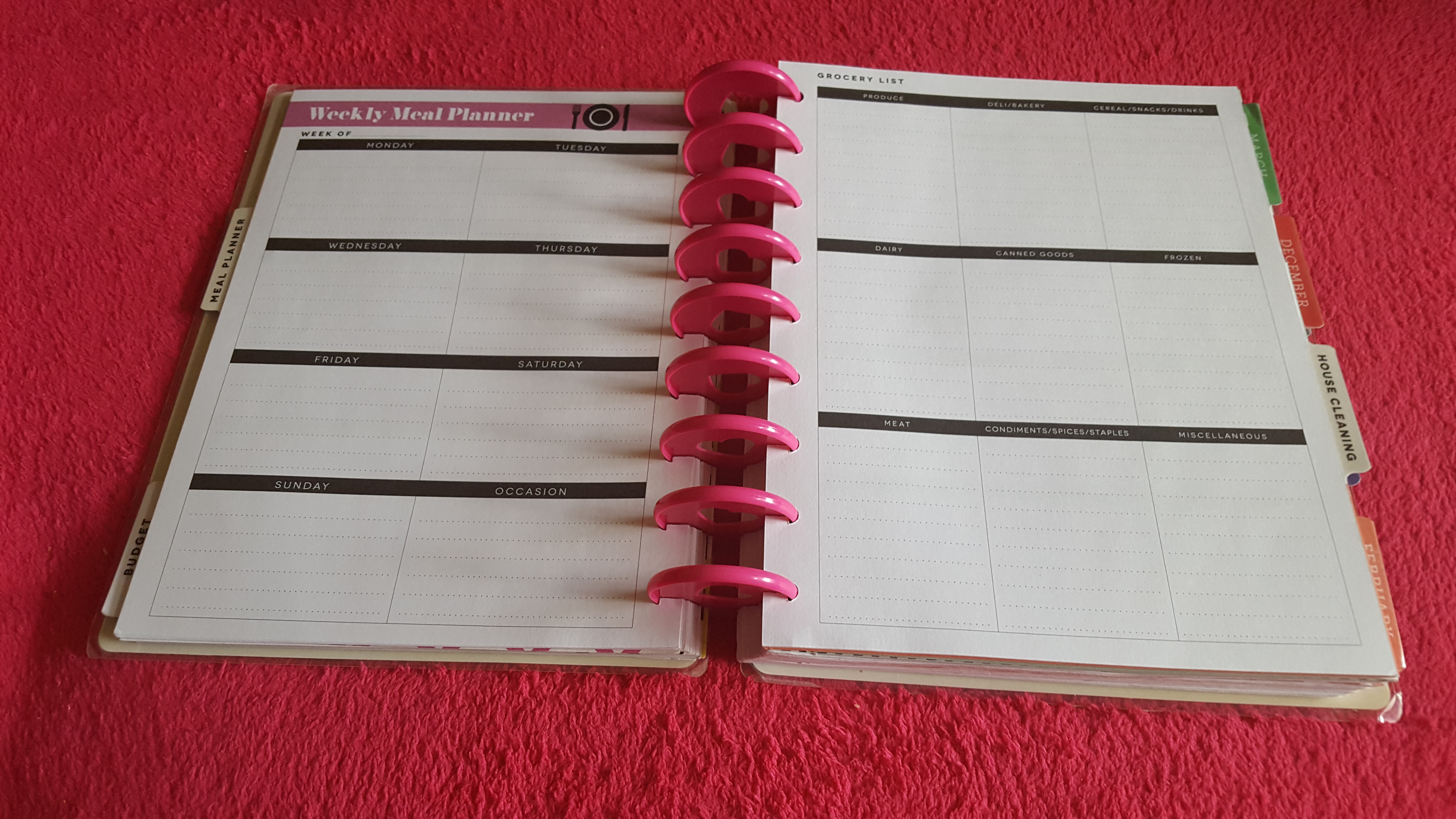 The Happy Planner is My New Favorite Planner! - My Fruitful Home