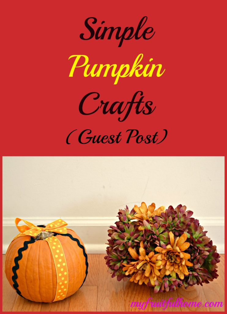 simple pumkin crafts