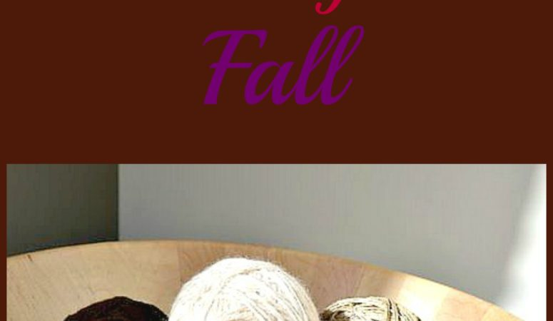 yarn ball decorations for fall