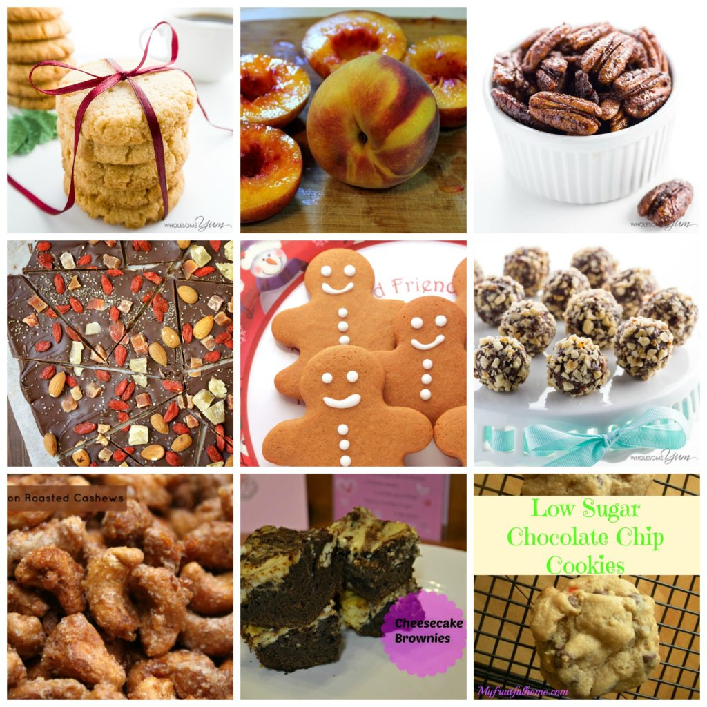 healthy Christmas desserts