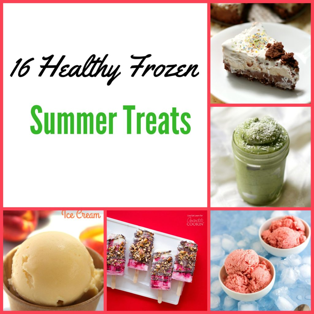 healthy frozen treats