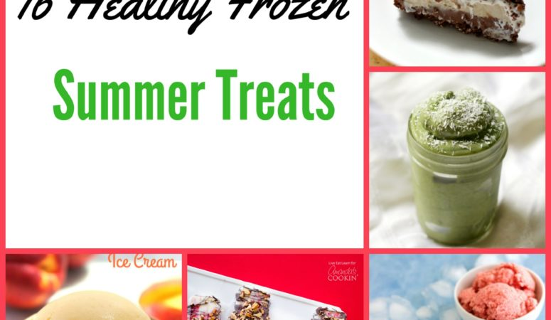 16 Yummy Healthy  Frozen Treats